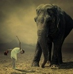 (Photo taken by Gregory Colbert for ASHES AND SNOW)