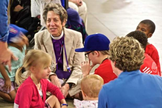 With thanks for our Presiding Bishop