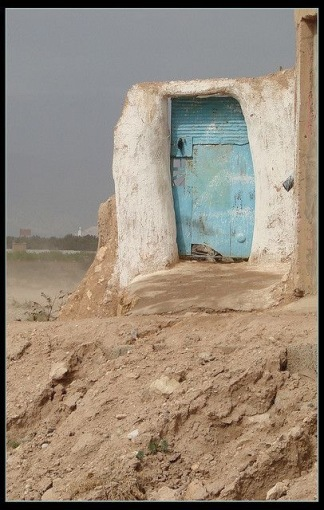 (Moroccan door- Pinterest)