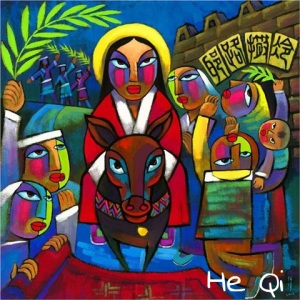 Palm Sunday - He Qi