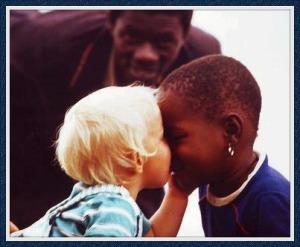 White and Black children
